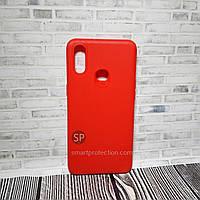 Чехол накладка для Samsung A10S красный  Miami Rifle
