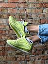 Стильные желтые женские кроссовки Nike Air Max, фото 7