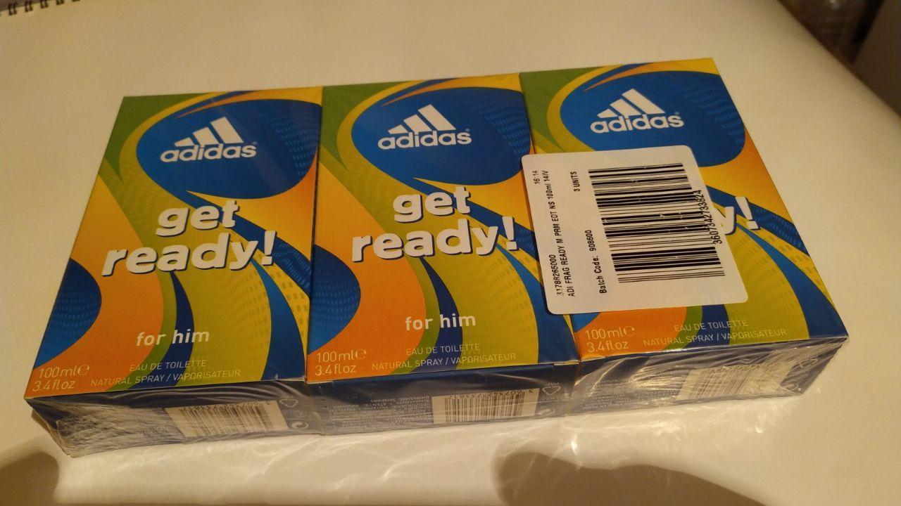 Чоловіча туалетна вода Adidas Get Ready (100ml.)