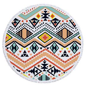Пляжный коврик из микрофибры Зигзаги, фото 2