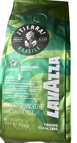 Кава мелена Lavazza iTierra! Brasil , 180 гр, фото 2