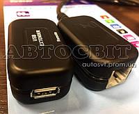 Активный кабель удлинитель Viewcon USB 1.1 - Ethernet 60 м VE 399