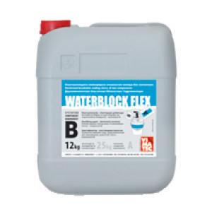 WATERBLOCK FLEX (Ватерблок Флекс) комп. В Эластичная гидроизоляция  (Кан 12кг)