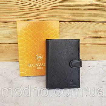 Чоловічий італійський шкіряний гаманець B. Cavalli в двох розмірах