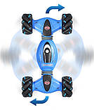Машинка перевертыш DOUBLE-SIDED 2071 / Трюковая машинка / Машинка на радиоуправлении 1300 мАч, фото 2