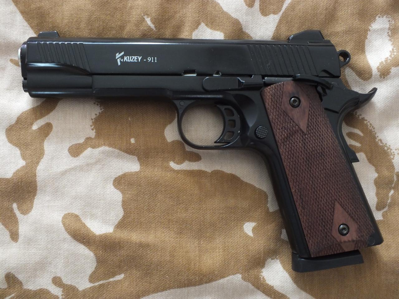 Сигнальный пистолет Kuzey Arms 911 Black с дополнительным магазином