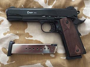 Сигнальный пистолет Kuzey Arms 911 Black с дополнительным магазином, фото 3