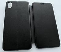 Чехол книжка для Xiaomi Redmi 7A черный (Чехол книжка Elite для Сяоми Редми 7A черный)