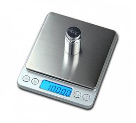 Высокоточные профессиональные ювелирные электронные весы 0,01-500 грамм с 2-мя чашами