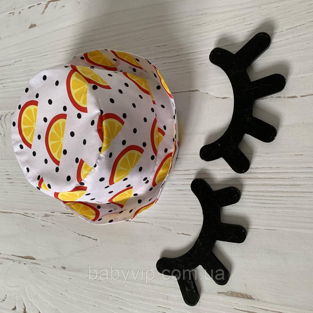 Хлопковая панамка от солнца размер 52-54 см