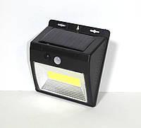 Светильник на солнечной батарее с датчиком движения и освещенности. Мод YX-618