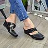 """Сабо женские кожаные черного цвета от производителя ТМ """"Maestro"""", фото 3"""