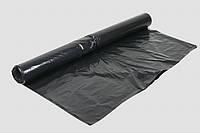 Строительная пленка, черная 80 мкр, вторичка