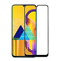 Защитное стекло 9D, 9H Полной оклейки для Samsung Galaxy M21, Захисне скло