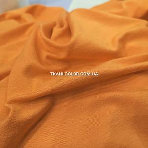 Трикотаж вискоза оранжевая, 180см