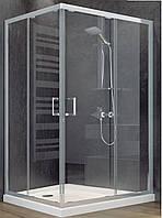 Душевая кабина SANTEH 1902812 120х80 поддон 17см, низкий поддон, прозрачное стекло