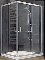 Душевая кабина SANTEH 1902812 120х80 + поддон 5 см, прозрачное стекло
