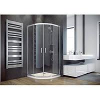 Кабіна душова 90x90 Besco Modern прозора + піддон з сифоном