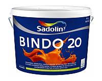Краска интерьерная SADOLIN BINDO 20 латексная белая 5л