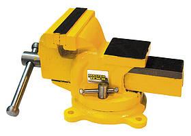 Тиски слесарные поворотные Ширина захвата 200 мм Mastertool (07-0220)