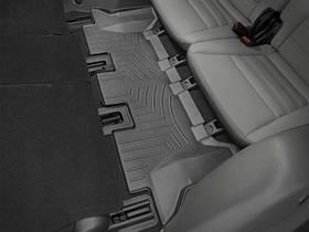 Килими гумові WeatherTech Kia Sorento 2014+ третій ряд чорний