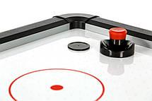 Ігровий стіл аерохокей Titan Air Hockey - 214 x 120 x 81 см, з LED підсвічуванням ігрового поля, фото 3