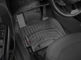 Ковры резиновые WeatherTech Kia Soul 2015-2019  передние черные