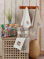 Кухонные полотенца Вафельные ( TM ZERON) хлопок 40*60 (7шт) Турция, фото 1