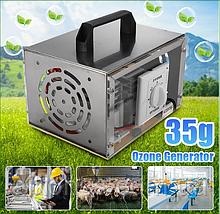 35g Генератор Озону очищувач повітря для дезінфекції 35000 мг / год 220в