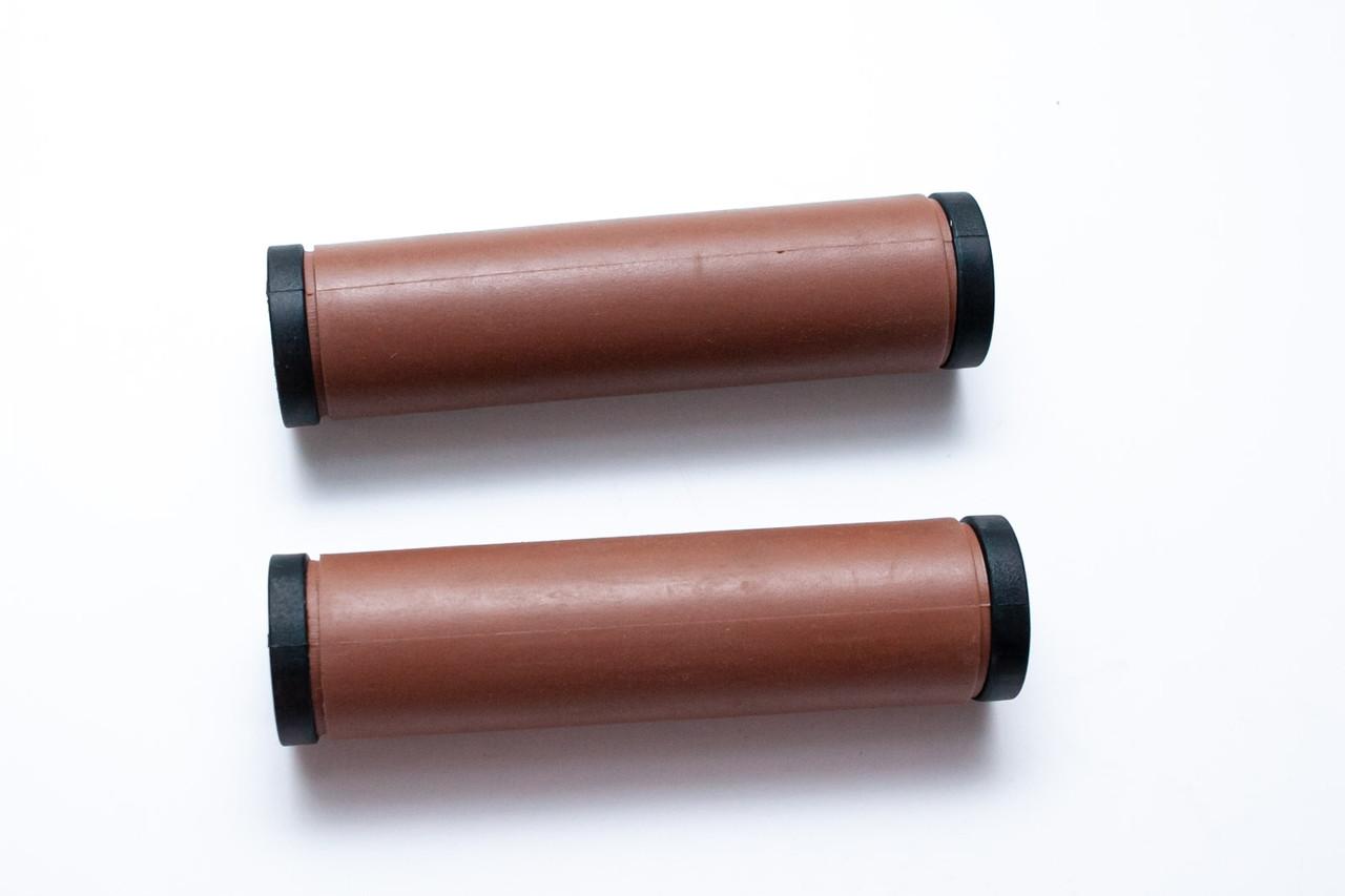 Грипса TPR L120мм коричневый JT-G35