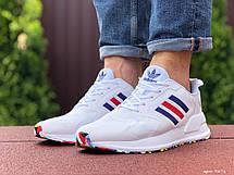 Мужские летние кроссовки Adidas,белые, фото 3