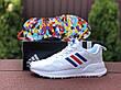 Мужские летние кроссовки Adidas,белые, фото 2