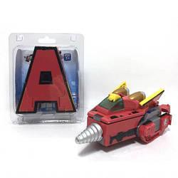 Детская игрушка Робот-трансформер Буква Maya Toys, высота 15см. Интересный робот-автобот для мальчика от 3 лет