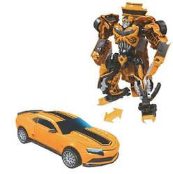 """Робот трансформер детский Бамблби """"Желтый спорткар"""" Maya Toys, 18 см"""
