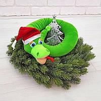 Мягкая игрушка Змея Удав Новый год Размеры 62 см, 90 см