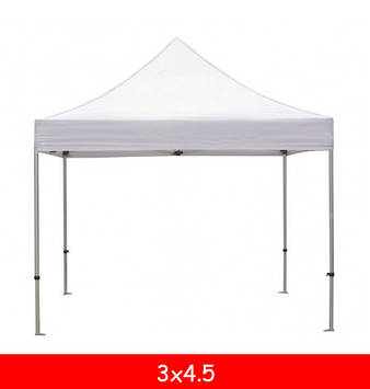 Тент для шатра 3x4,5 (10,5 м.) (белый/бежевый)