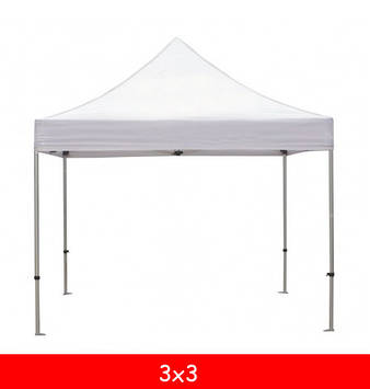 Тент для шатра 3x3 (9м.) (белый/бежевый)