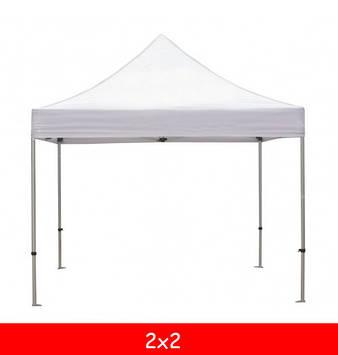 Тент для шатра 2x2 (6м.)  (белый/бежевый)