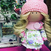 Интерьерная текстильная кукла ручной работы