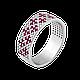 Серебряное кольцо Орнамент, фото 4