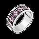 Серебряное кольцо Орнамент, фото 5
