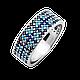 Серебряное кольцо Орнамент, фото 6