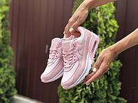 Кросівки жіночі в стилі Nike Air Max 90 рожеві