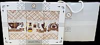Кухонные полотенца Вафельные  (ТМ Nilteks)  хлопок 40*60 (3шт.) Турция