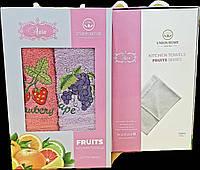 Кухонные полотенца Махровые (ТМ Aura) хлопок 30*50 (2шт.) Турция