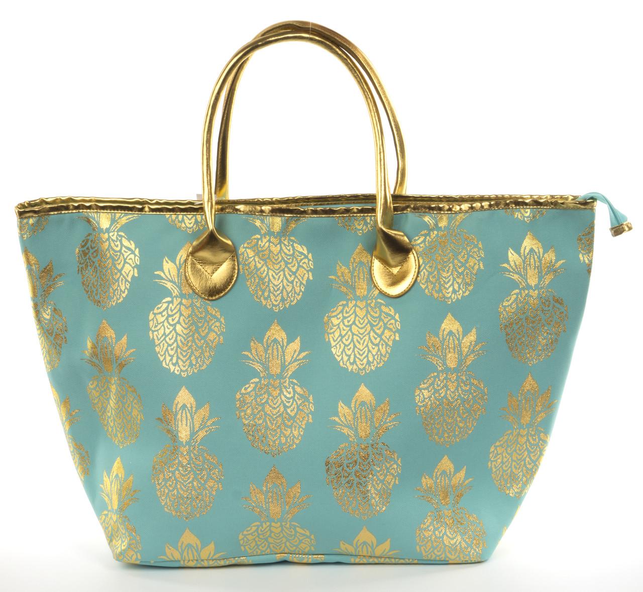 Прочная вместительная женская пляжная сумка art.8003