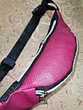 Женская сумка на пояс VLTN искусств кожа только оптом, фото 3