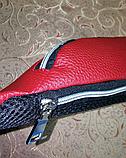 Женская сумка на пояс VLTN искусств кожа только оптом, фото 6