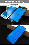Защитное стекло 9D для Iphone 7 черное Premium качество, фото 9