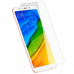 Защитное стекло  прозрачное  для Xiaomi Redmi 5 Plus